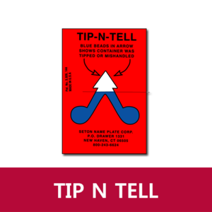 [기울임라벨] ULINE TIP N TELL